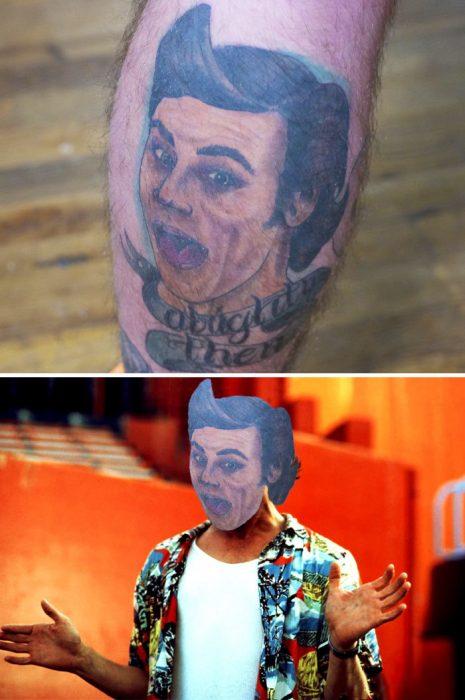 tatuaje de jim carrey