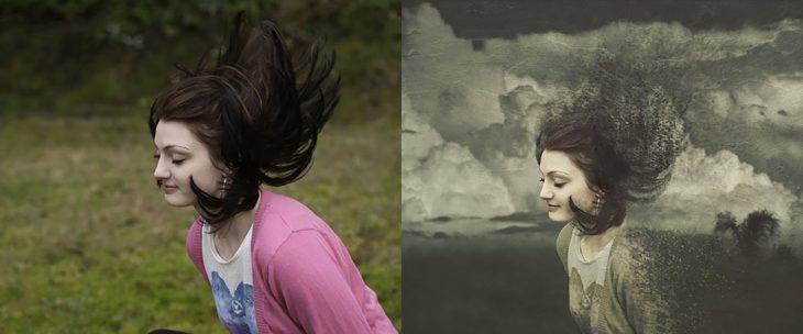 foto transformada con photoshop