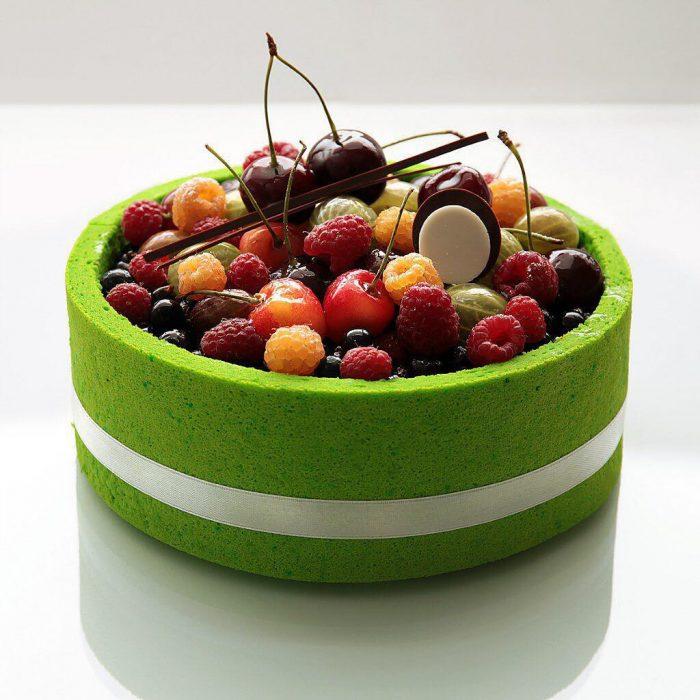 pasteles bonitos y perfectos