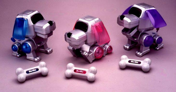 perros robot de los 90