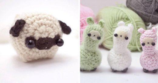 Cover Animales miniatura que los amantes del tejido amarán