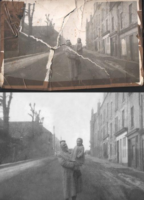 reparación fotográfica con photoshop