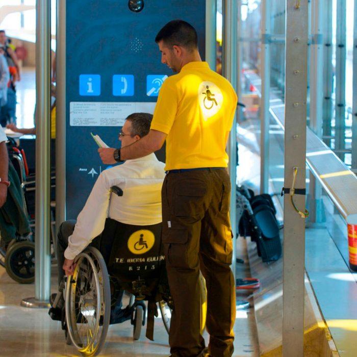 servicio de acompañamiento en aeropuerto