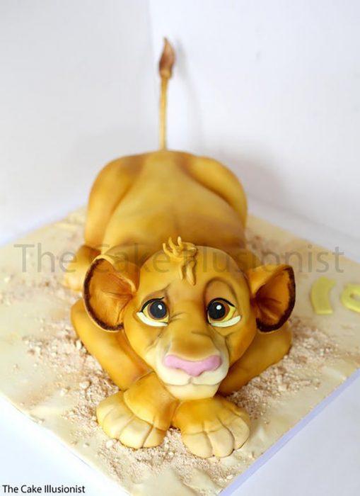 pastel de simba