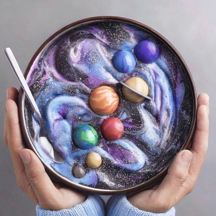 postre del sistema solar