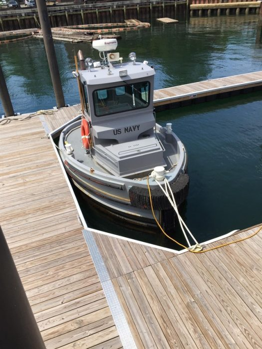 barco para una sola persona