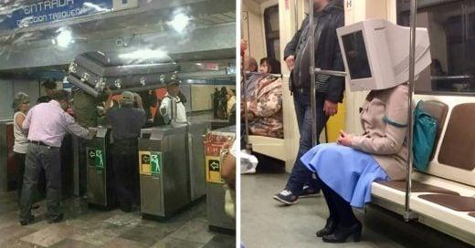 Cover Personas locas que te puedes encontrar en el metro