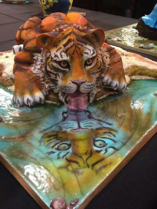 pastel de tigre