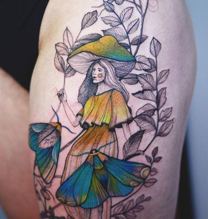 tatuaje de pulgarcita