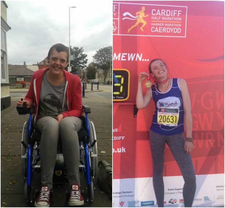 antes silla de ruedas, después correr maratones