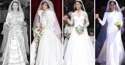 Cover Los vestidos de novia más icónicos de la realeza