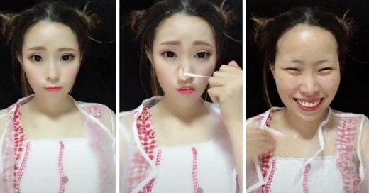 Cover Mujeres chinas se remueven el maquillaje y revelan su verdadero rostro