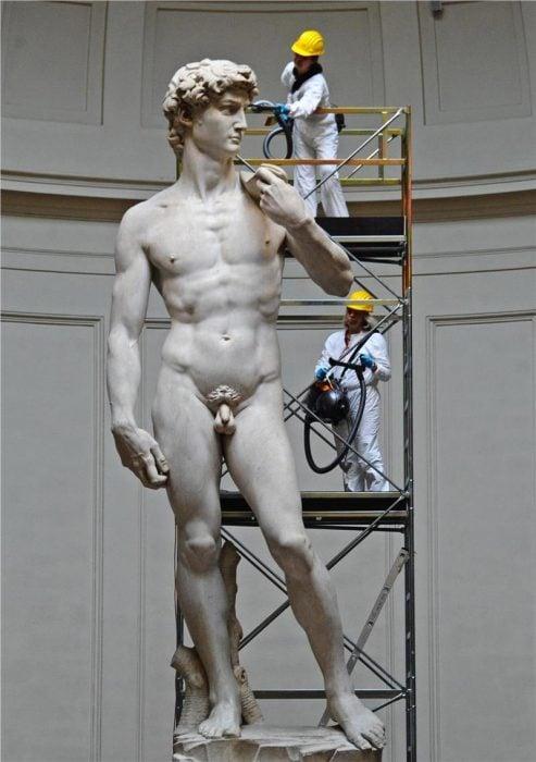 David de Miguel Ángel comparado con humanos
