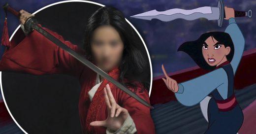 Cover Revelan a la actriz de Mulan Live-action