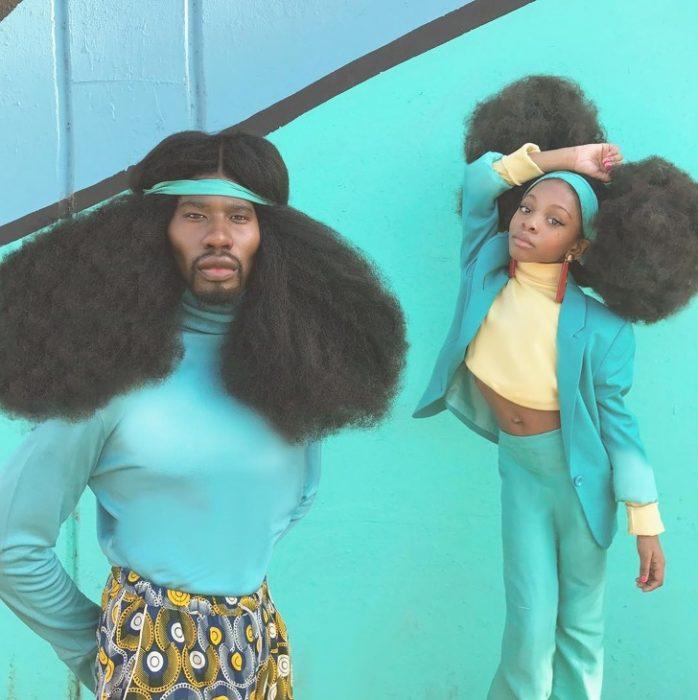 Personas con cabello increíble recreoviral