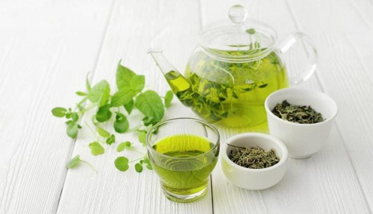 Tés que ayudan a bajar de peso té verde