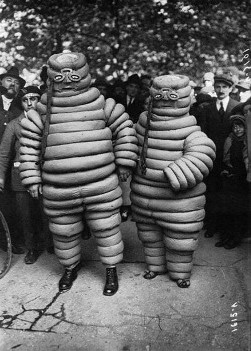 El original Hombre Michelin