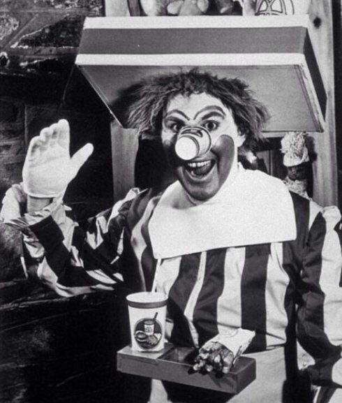 primer Ronald McDonald, 1963