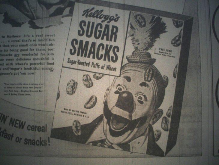 Anuncio vintage de cereal