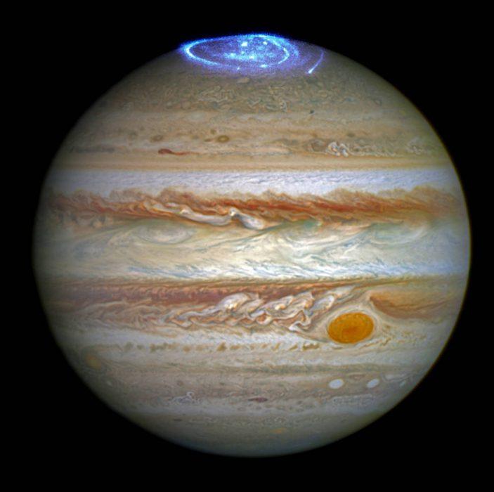 aurora boreal júpiter