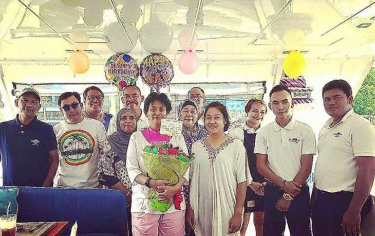 princesa de malasia en su cumple