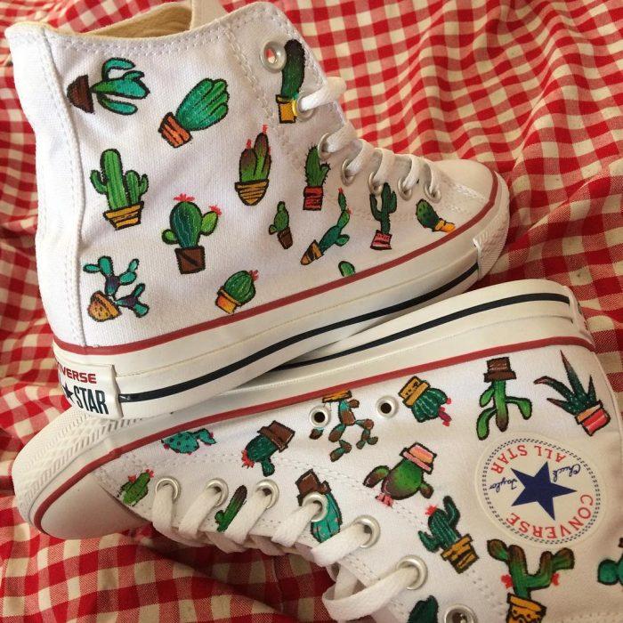 converse de cactus