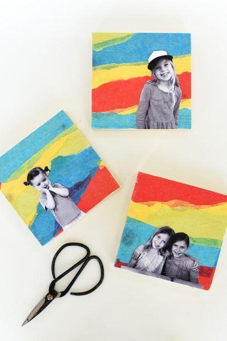 fotos familiares coloridas