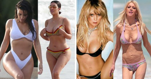 Cover Celebridades que se convierten en mujeres reales cuando les quitan el photoshop