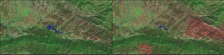 Lago Cachuma, California : 1984 - 2016