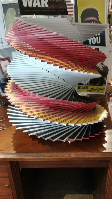 espiral de libros
