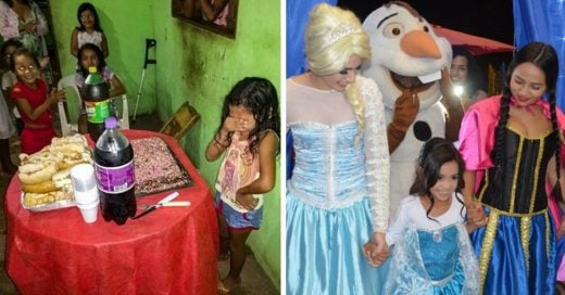 Cover La niña que agradeció su humilde pastel de cumpleaños y se hizo viral tuvo una gran fiesta