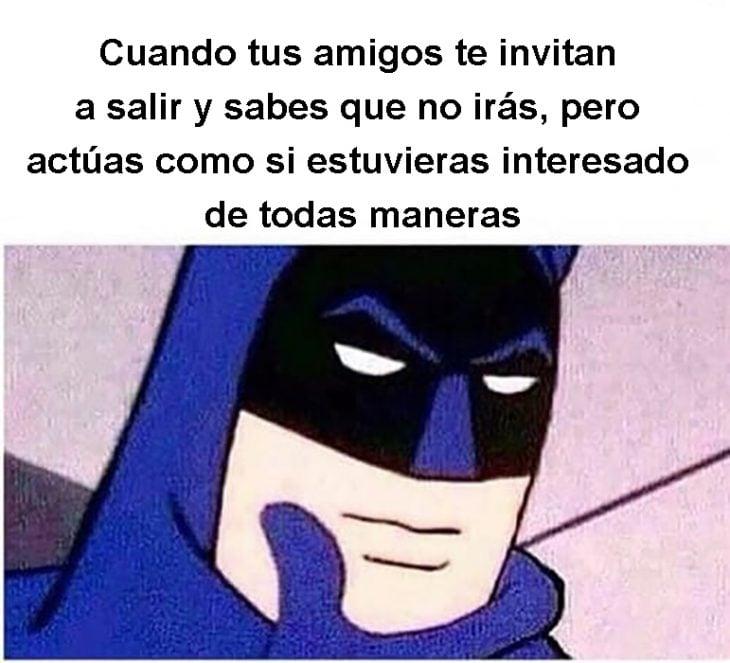 meme batman introvertido