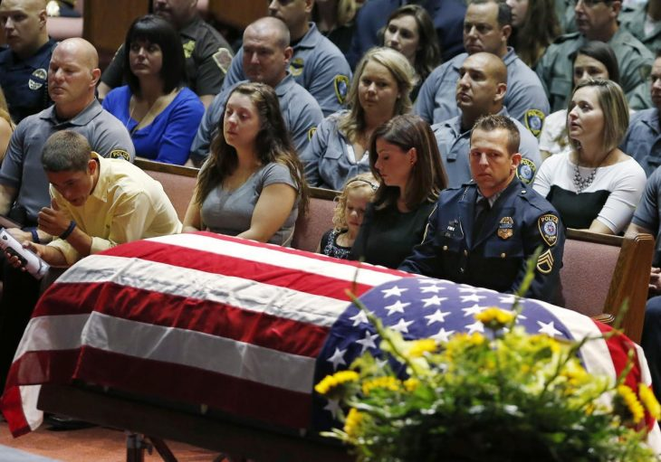 funeral de k9