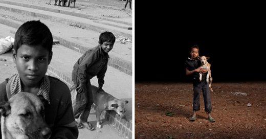 Cover Niños huérfanos y perros callejeros