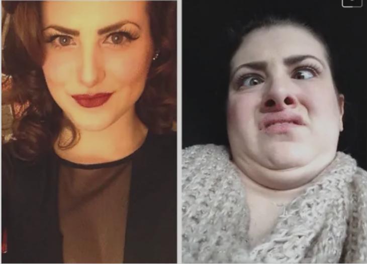 antes y después de un buen ángulo