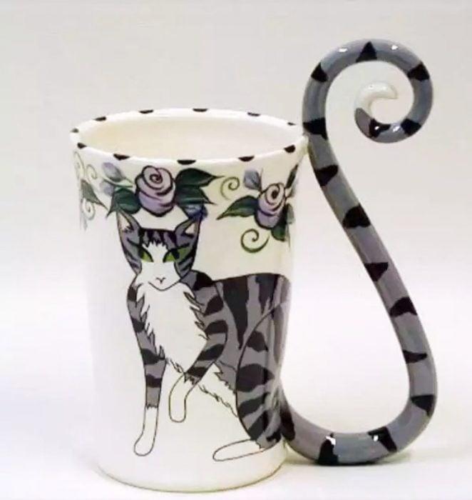 tazas para quienes aman a los gatos