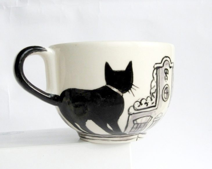 tazas para quienes ama a los gatos