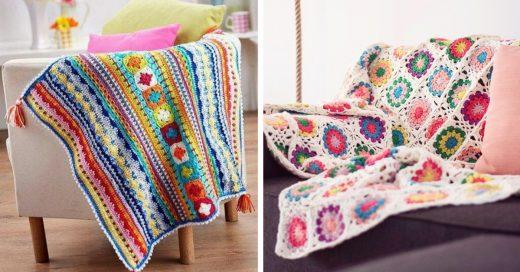 Cover Mantitas de crochet para tejer con tu abuelita