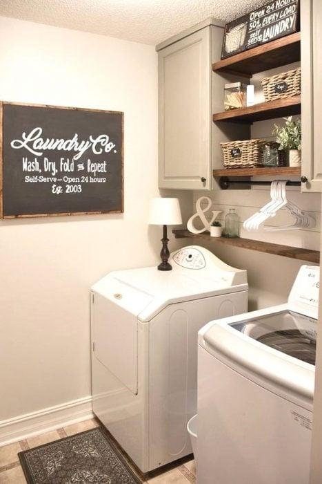 Cuartos de lavar ropa