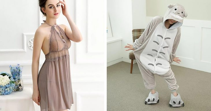 dos tipos de ropa para dormir