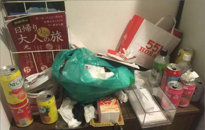 Estudiantes chinas hacen desastre en una casa Airbnb