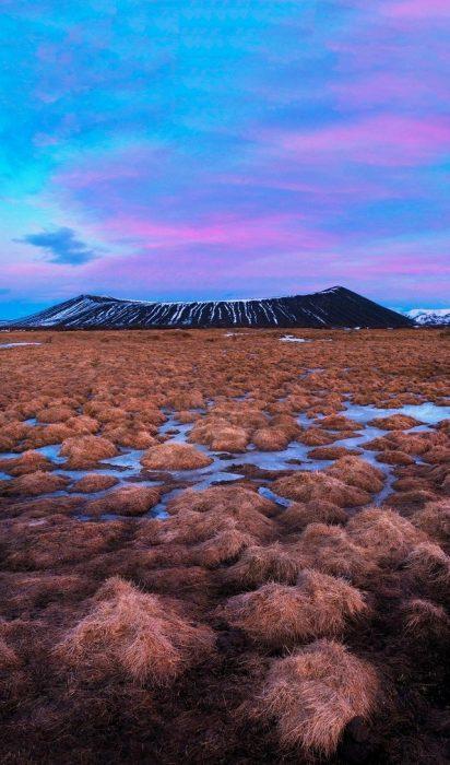Crater Hverfjall, Islandia