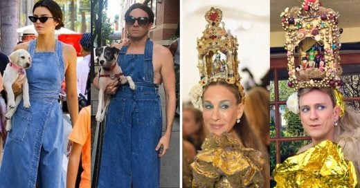 Cover Famoso actor imita los atuendos de otras celebridades