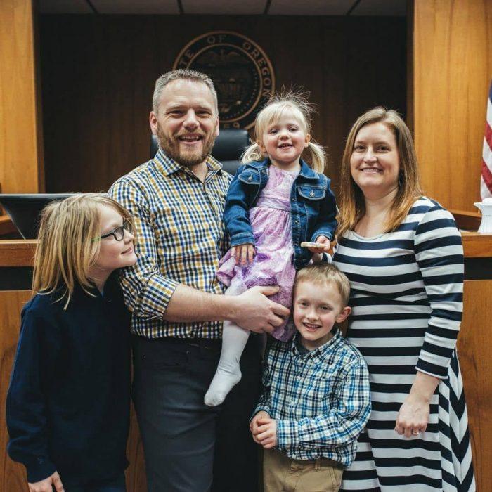 adopciones familia