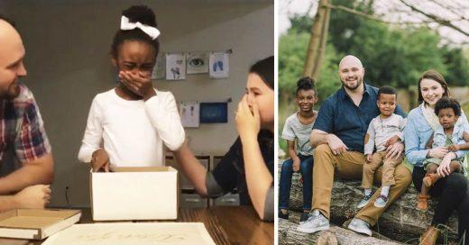 Cover La conmovedora reacción de una niña al enterarse de que ha sido adoptada