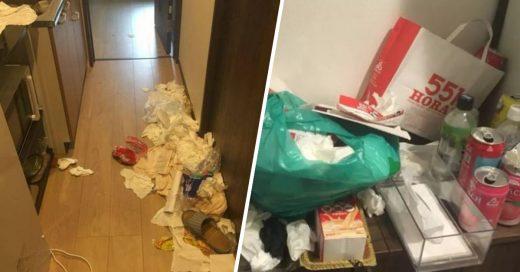 Cover Estudiantes chinas hacen un desastre en casa Airbnb
