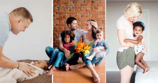 Cover Familias adoptivas que muestran que la paternidad se lleva en el corazón