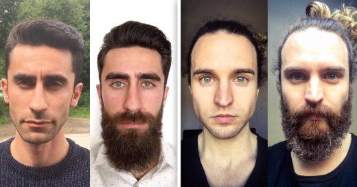 CoverPruebas de que la barba cambia a los hombres drásticamente