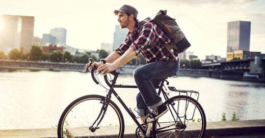 Cover Manejar bicicleta para ir a trabajar disminuye el estrés