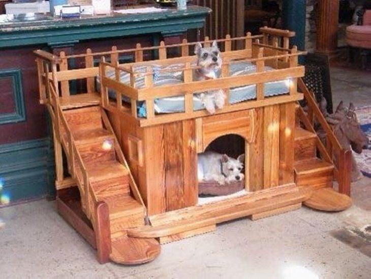 bonitas camas para perros
